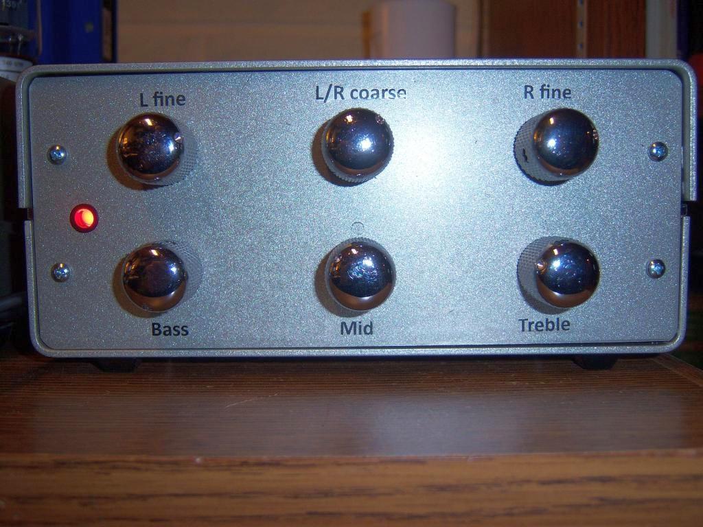 3 Band Tube Tone Control