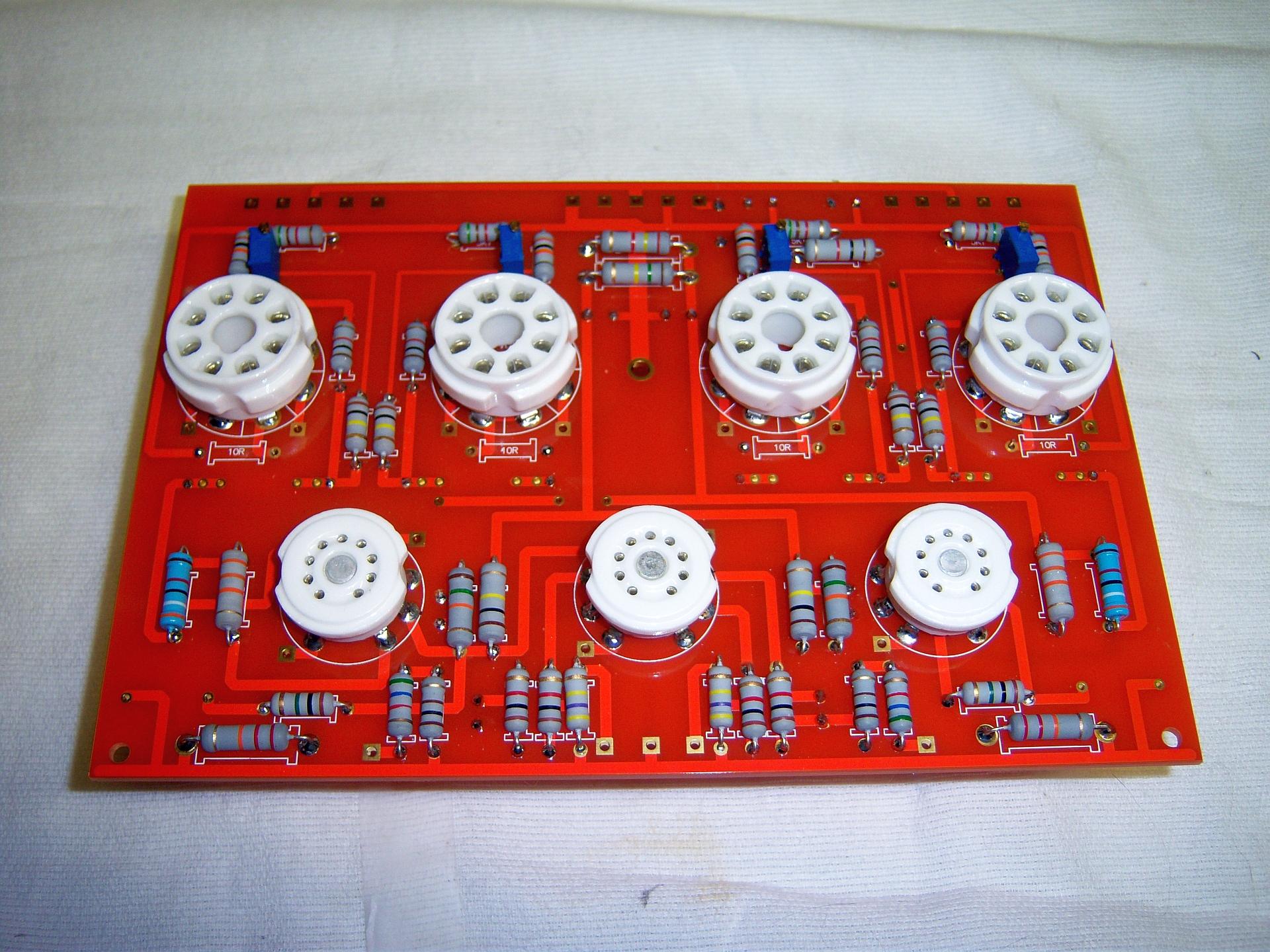 EL34 PP board top