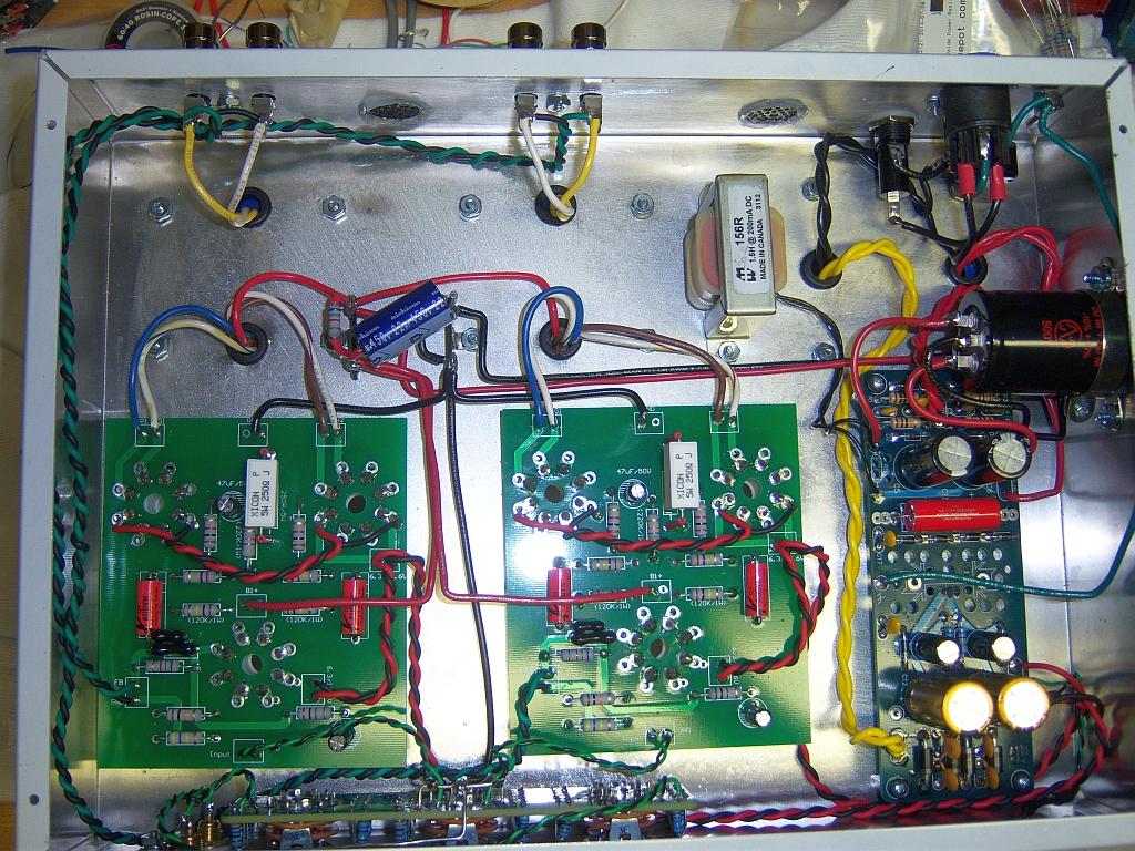 6V6 chassis bottom