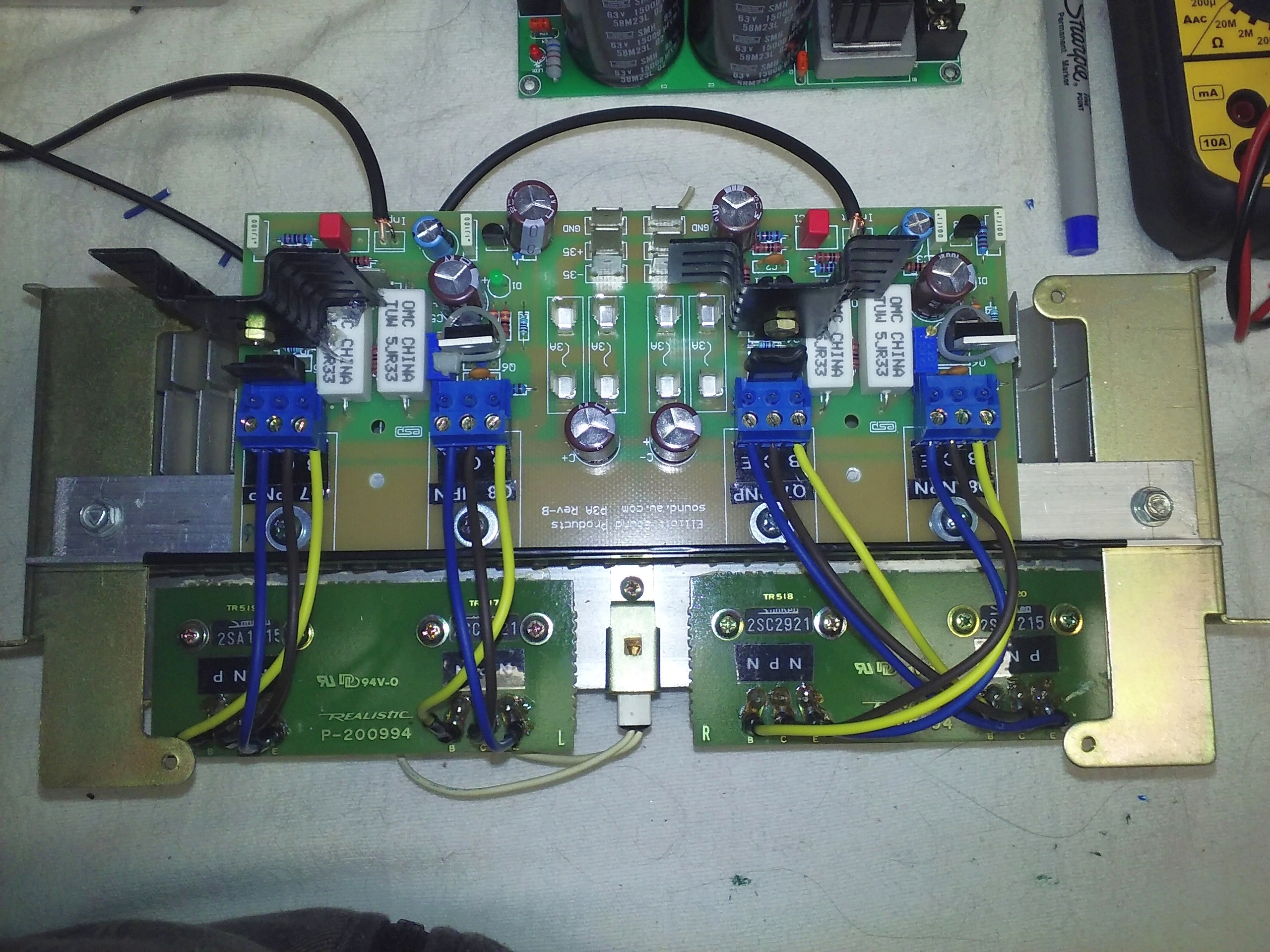 driver board output array