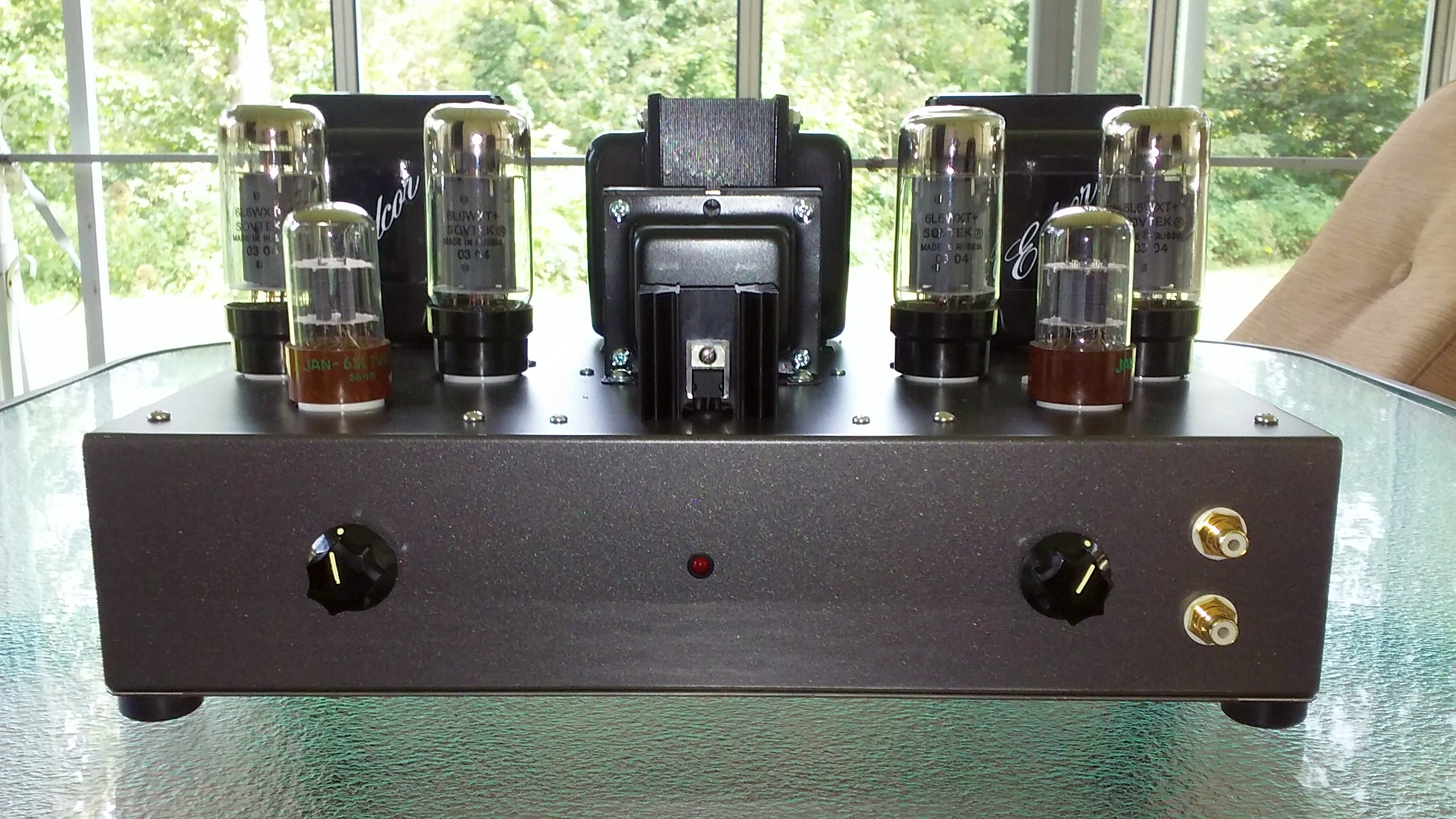 6l6 PP Stereo Amplifier