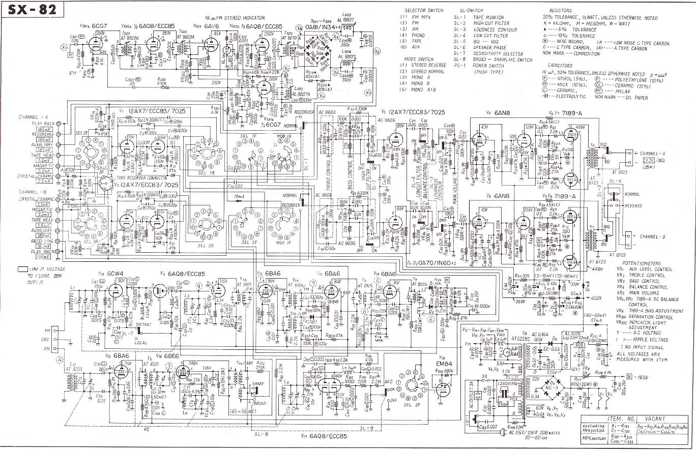 sx-82 schematic